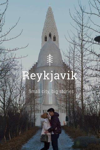 Reykjavik Small city, big stories