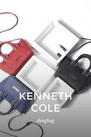 KENNETH COLE slingbag
