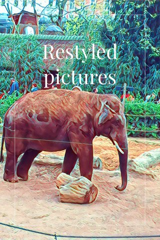 Restyled pictures