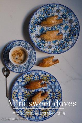 Mini sweet doves #food steller #stelleritalia
