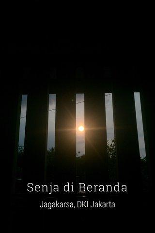 Senja di Beranda Jagakarsa, DKI Jakarta