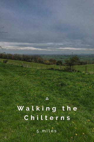 Walking the Chilterns 5 miles