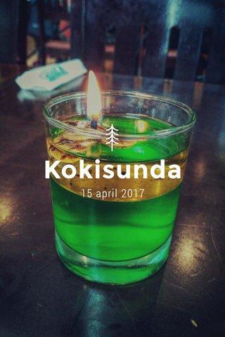 Kokisunda 15 april 2017