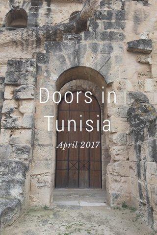 Doors in Tunisia April 2017