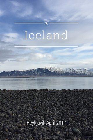 Iceland Reykjavik April 2017