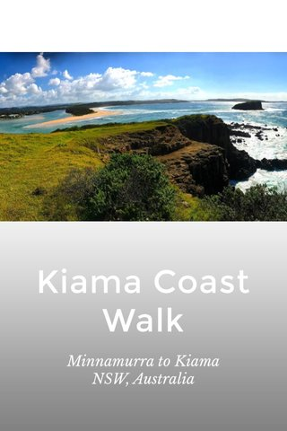 Kiama Coast Walk Minnamurra to Kiama NSW, Australia