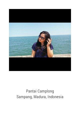 Pantai Camplong Sampang, Madura, Indonesia
