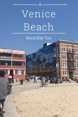 Venice Beach Mural Bike Tour