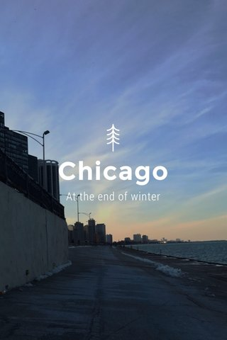 Chicago At the end of winter