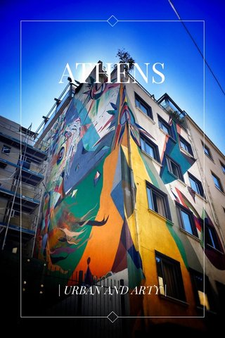 ATHENS | URBAN AND ARTY |