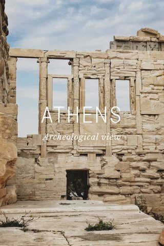 ATHENS Archeological view