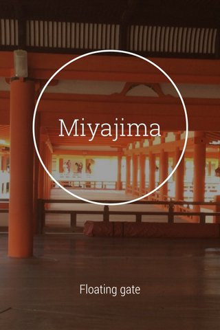 Miyajima Floating gate