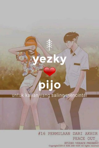 yezky ❤ pijo untuk kalian yang saling mencintai