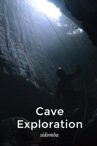 Cave Exploration sidomba
