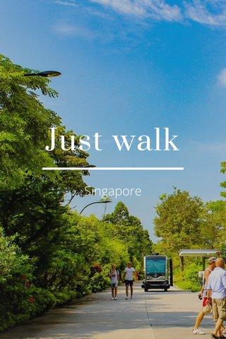 Just walk Singapore