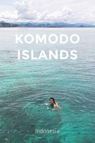 KOMODO ISLANDS Indonesia