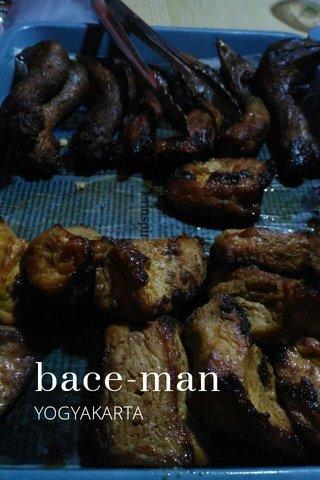 bace-man YOGYAKARTA