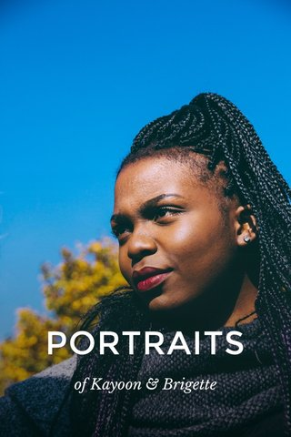 PORTRAITS of Kayoon & Brigette