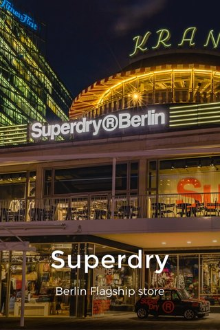 Superdry Berlin Flagship store