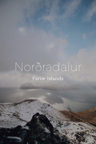 Norðradalur Faroe Islands