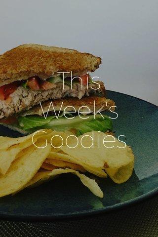 This Week's Goodies