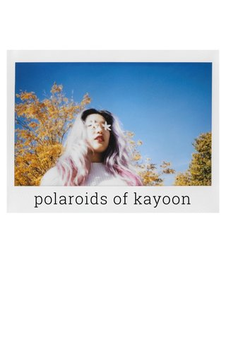 polaroids of kayoon