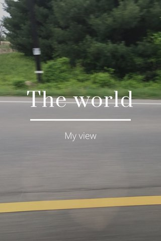 The world My view