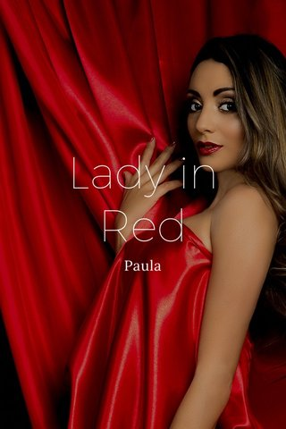 Lady in Red Paula