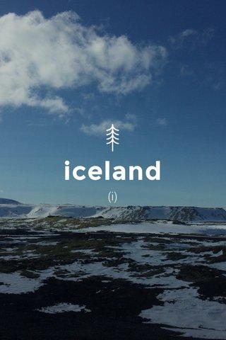 iceland (i)