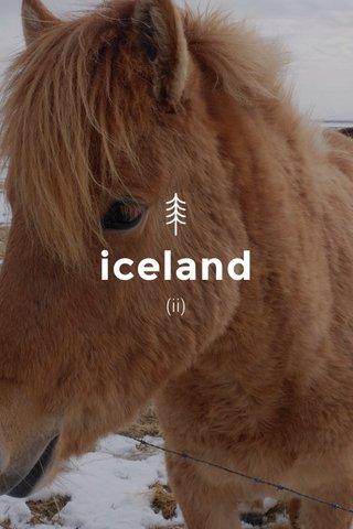 iceland (ii)