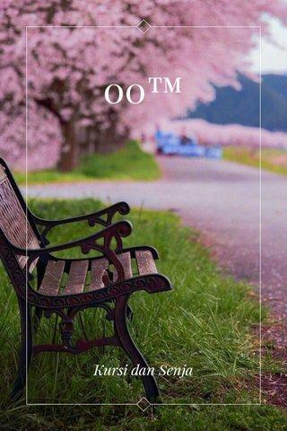 00™ Kursi dan Senja
