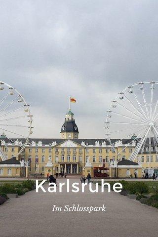 Karlsruhe Im Schlosspark