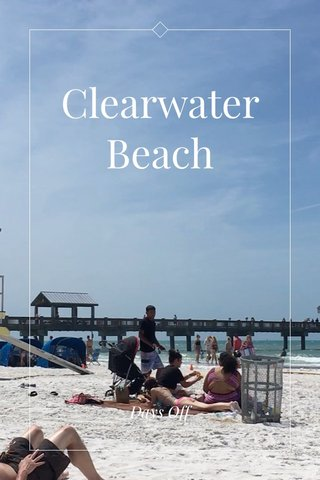 Clearwater Beach Days Off