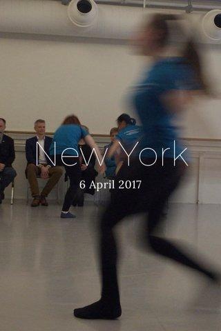 New York 6 April 2017