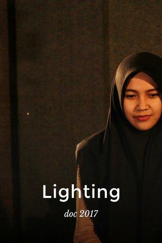 Lighting doc 2017