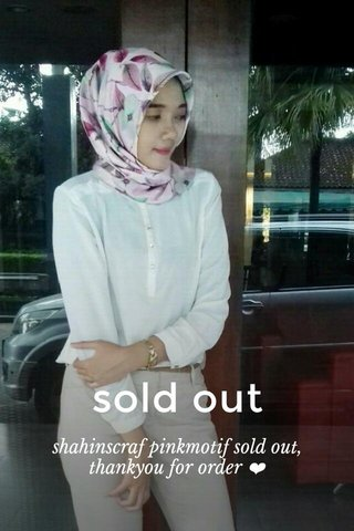 sold out shahinscraf pinkmotif sold out, thankyou for order ❤
