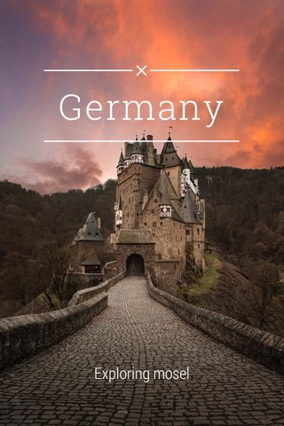 Germany Exploring mosel