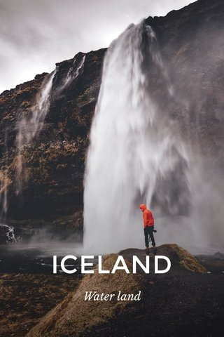 ICELAND Water land