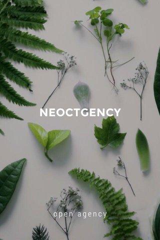 NEOCTGENCY open agency