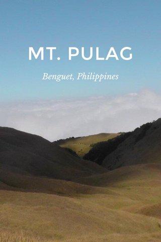 MT. PULAG Benguet, Philippines