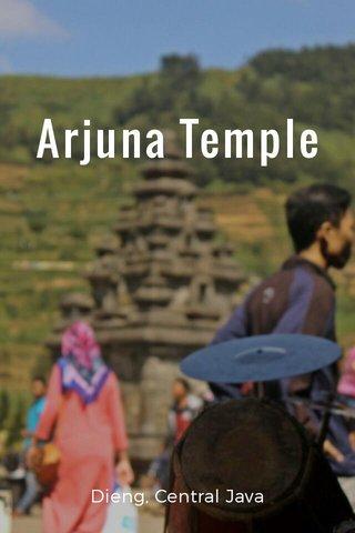 Arjuna Temple Dieng, Central Java