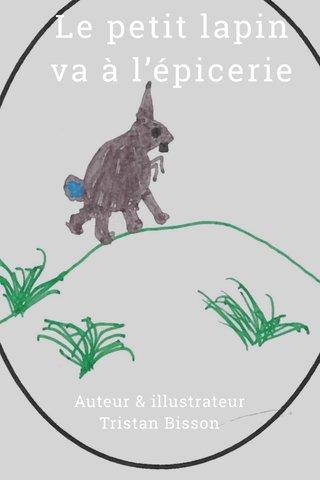 Le petit lapin va à l'épicerie Auteur & illustrateur Tristan Bisson
