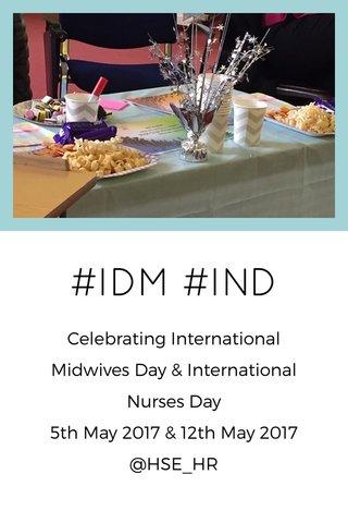#IDM #IND