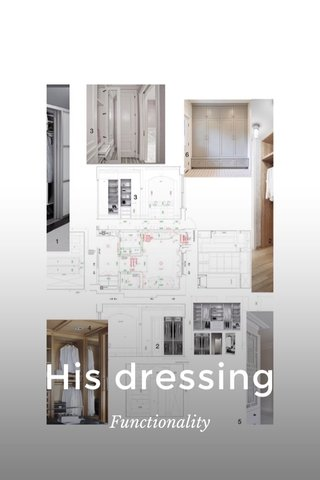 His dressing Functionality