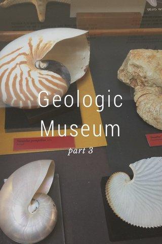 Geologic Museum part 3