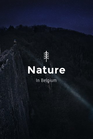 Nature In Belgium