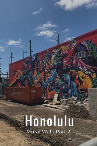 Honolulu Mural Walk Part 2