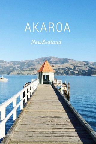AKAROA NewZealand