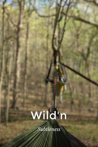 Wild'n Subtleness
