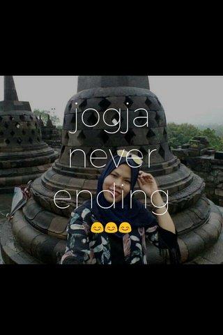 jogja never ending 😊😊😊